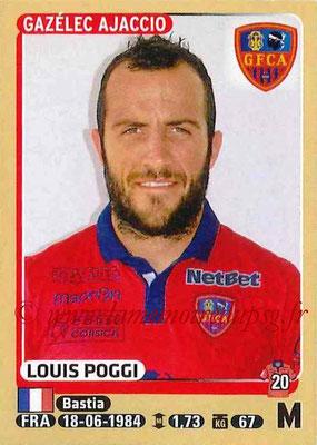 2015-16 - Panini Ligue 1 Stickers - N° 016 - Louis POGGI (Gazélec Ajaccio)