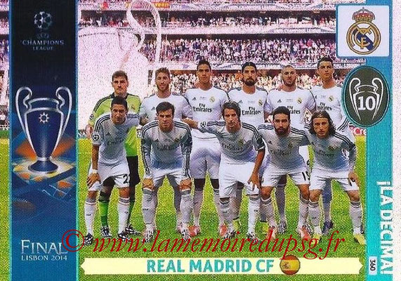 2014-15 - Adrenalyn XL champions League N° 360 - Real Madrid CF (La Decima)