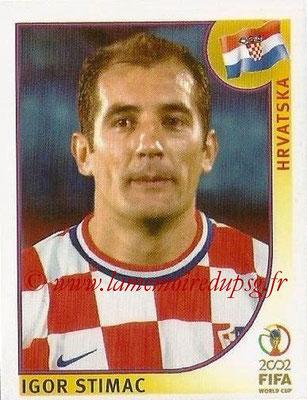 2002 - Panini FIFA World Cup Stickers - N° 481 - Igor STIMAC (Croatie)