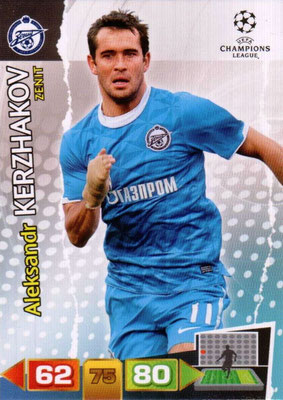 2011-12 - Panini Champions League Cards - N° 274 - Aleksandr KERZHAKOV (FC Zenit)