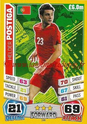 Topps Match Attax England 2014 - N° 196 - Helder POSTIGA (Portugal)