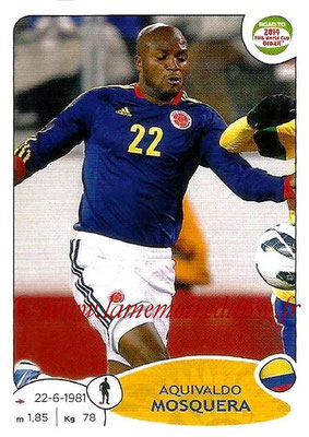 2014 - Panini Road to FIFA World Cup Brazil Stickers - N° 177 - Aquivaldo MOSQUERA (Colombie)