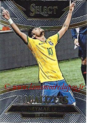 2015 - Panini Select Soccer - N° E04 - NEYMAR Jr (Brésil) (Equalizers)