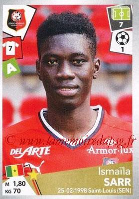 2017-18 - Panini Ligue 1 Stickers - N° 409 - Ismaïla SARR (Rennes)