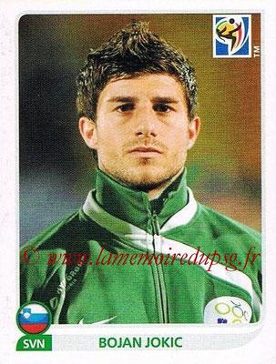 2010 - Panini FIFA World Cup South Africa Stickers - N° 245 - Bojan JOKIC (Slovenie)