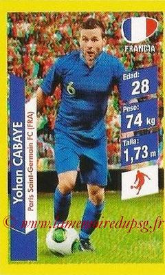 N° 158 - Yohan CABAYE (Jan 2014-15, PSG > 2014, France)