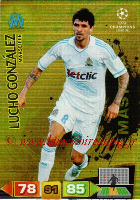 2011-12 - Panini Champions League Cards - N° 345 - Lucho GONZALES (Olympique de Marseille) (Master)