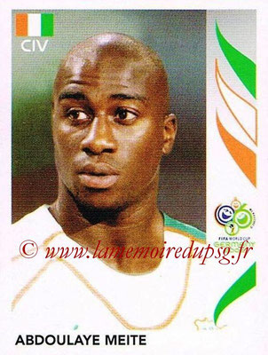 2006 - Panini FIFA World Cup Germany Stickers - N° 199 - Abdoulaye MEITE (Côte d' Ivoire)