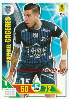 2017-18 - Panini Adrenalyn XL Ligue 1 - N° 359 - Raphael CACERES (Troyes)