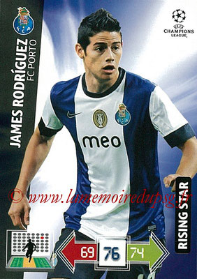 2012-13 - Adrenalyn XL champions League N° 200 - James RODRIGUEZ (FC Porto) (Rising Star)