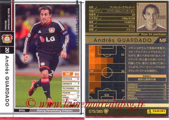 2013-14 - WCCF - N° 075 - Andres GUARDADO (Bayer 04 Leverkusen)