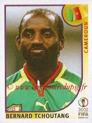 2002 - Panini FIFA World Cup Stickers - N° 381 - Bernard TCHOUTANG (Cameroun)