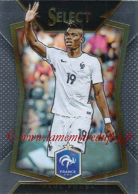 2015 - Panini Select Soccer - N° 008 - Paul POGBA (France)