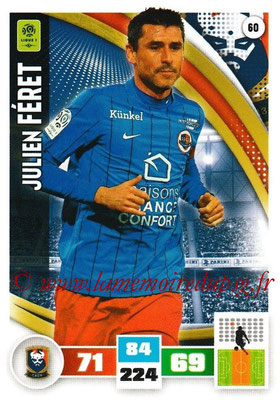 2016-17 - Panini Adrenalyn XL Ligue 1 - N° 060 - Julien FERET (Caen)