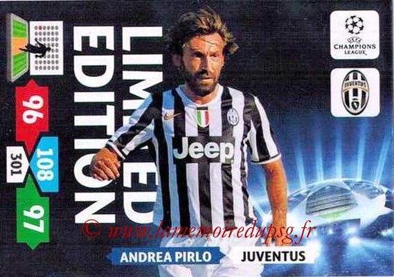 2013-14 - Adrenalyn XL champions League N° LE29 - Andrea PIRLO (Juventus FC) (Limited Edition)