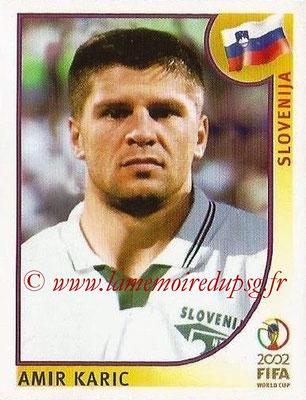 2002 - Panini FIFA World Cup Stickers - N° 126 - Amir KARIC (Slovénie)
