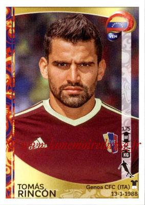 Panini Copa America Centenario USA 2016 Stickers - N° 294 - Tomas RINCON (Venezuela)