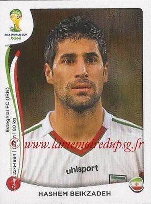 2014 - Panini FIFA World Cup Brazil Stickers - N° 458 - Hashem BEIKZADEM (Iran)