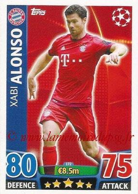 2015-16 - Topps UEFA Champions League Match Attax - N° 172 - Xabi ALONSO (FC Bayern Munich)