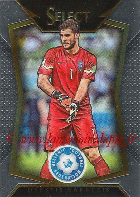 2015 - Panini Select Soccer - N° 055 - Orestis KARNEZIS (Grèce)