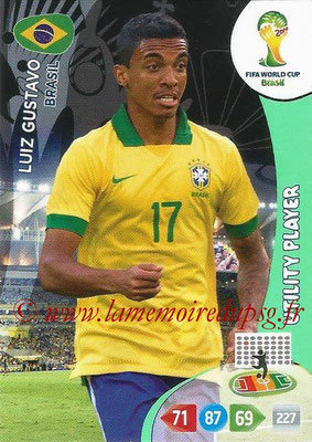 2014 - Panini FIFA World Cup Brazil Adrenalyn XL - N° 053 - Luiz GUSTAVO (Brésil) (Utility Player)