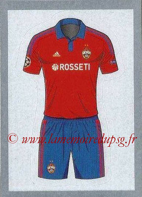 2015-16 - Topps UEFA Champions League Stickers - N° 083 - Maillot Domicile CSKA Moscou