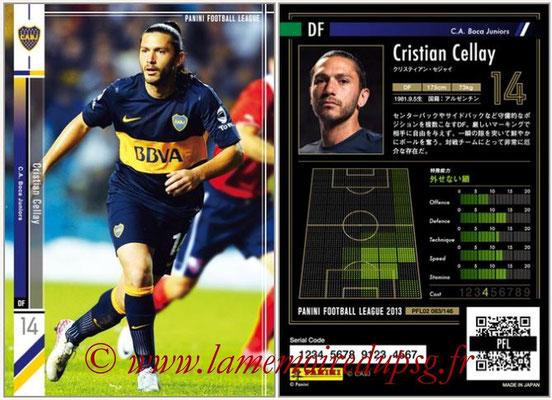 Panini Football League 2013 - PFL02 - N° 083 - Cristian Cellay ( C.A. Boca Juniors )