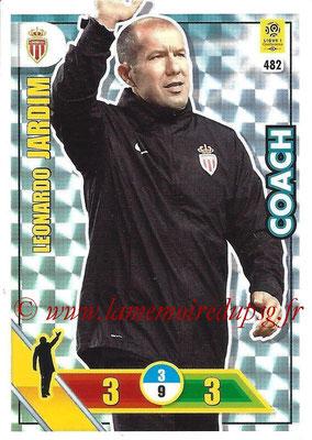 2017-18 - Panini Adrenalyn XL Ligue 1 - N° 482 - Leonardo JARDIM (Monaco) (Coach)