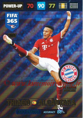 2016-17 - Panini Adrenalyn XL FIFA 365 - N° 363 - Thiago ALCANTARA (FC Bayern Munich) (Key Player)