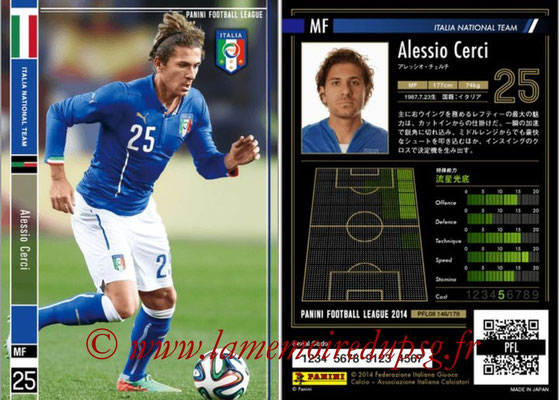 Panini Football League 2014 - PFL08 - N° 146 - Alessio CERCI (Italie)