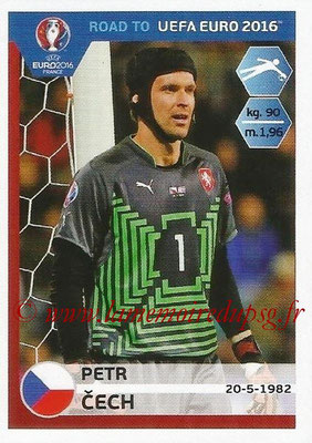 Panini Road to Euro 2016 Stickers - N° 033 - Petr CECH (République Tchèque)