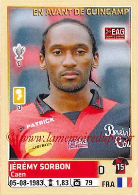 2014-15 - Panini Ligue 1 Stickers - N° 107 - Jérémy SORBON (EA Guingamp)