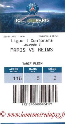 Tickets  PSG-Reims  2019-20
