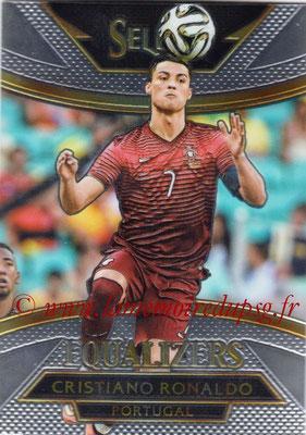 2015 - Panini Select Soccer - N° E15 - Cristiano RONALDO (Portugal) (Equalizers)