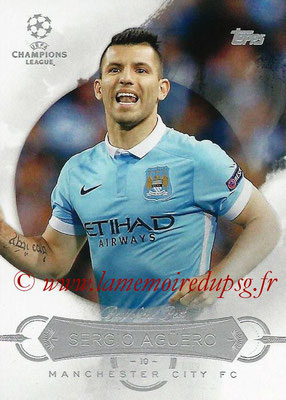 2015-16 - Topps UEFA Champions League Showcase Soccer - N° BB-SA - Sergio AGUERO (Manchester City FC) (Best of the Best)
