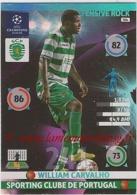 2014-15 - Adrenalyn XL champions League N° 306 - William CARVALHO (Sporting Clube de Portugal) (Defensive Rock)