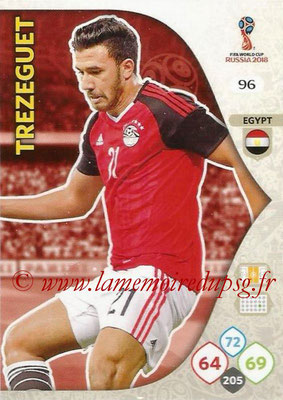 2018 - Panini FIFA World Cup Russia Adrenalyn XL - N° 096 - TRESEGUET (Egypte)