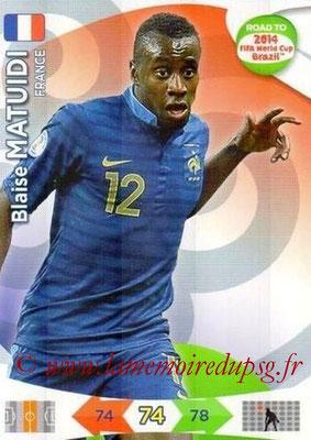 N° 094 - Blaise MATUIDI (2011-??, PSG > 2014, France)
