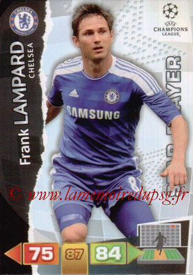 2011-12 - Panini Champions League Cards - N° 088 - Frank LAMPARD (Chelsea FC) (Star Player)
