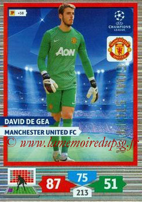 2013-14 - Adrenalyn XL champions League N° 327 - David DE GEA (Manchester United FC) (Goal Stopper)