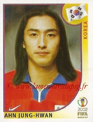 2002 - Panini FIFA World Cup Stickers - N° 253 - Ahn JUNG-HWAN (Corée)