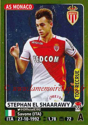 2015-16 - Panini Ligue 1 Stickers - N° 264 - Stephan EL SHARAWY (AS Monaco) (Top recrue)