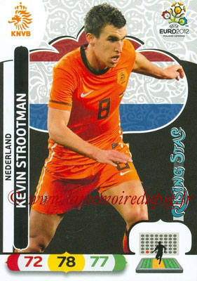 Panini Euro 2012 Cards Adrenalyn XL - N° 143 - Kevin STROOTMAN (Pays-Bas) (Rising Star)