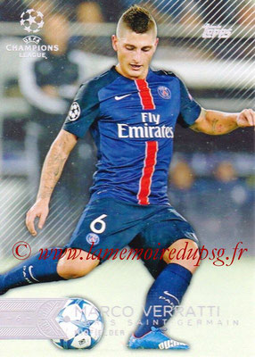 2015-16 - Topps UEFA Champions League Showcase Soccer - N° 004 - Marco VERATTI (Paris Saint-Germain)