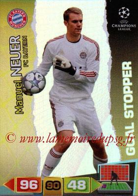 2011-12 - Panini Champions League Cards - N° 280 - Manuel NEUER (FC Bayern Munich) (Goal Stopper)