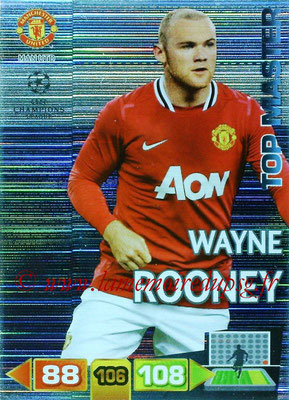 2011-12 - Panini Champions League Cards - N° 354 - Wayne ROONEY (Manchester United FC) (Top Master)