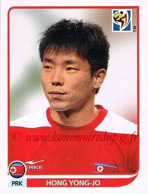 2010 - Panini FIFA World Cup South Africa Stickers - N° 521 - Hong YONG-JO (Corée du Nord)