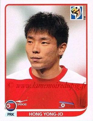 2010 - Panini FIFA World Cup South Africa Stickers - N° 521 - Hong YONG-JO (Corée du Nord)