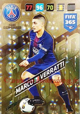 2017-18 - Panini FIFA 365 Cards - N° LE-MV - Marco VERRATTI (Paris Saint-Germain) (Limited Edition)