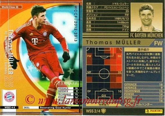 2012-13 - WCCF - N° WSS2 - Thomas MÜLLER (FC Bayern Munich) (World Class SS)